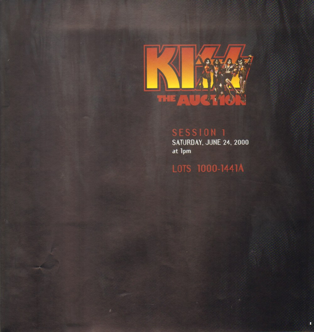 "2000 Butterfield's ""KISS"" Auction Butterfields_page_14"