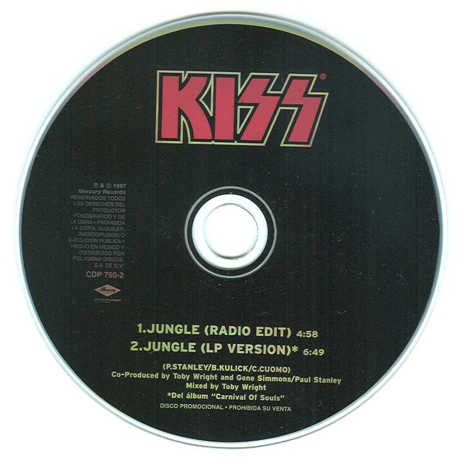 the kissfaq discography singles international cd singles jungle full version 6 49 stanley kulick cuomo details simply not issued anywhere except to radio stations